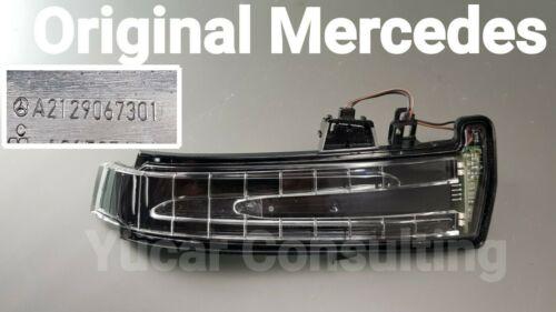 Original Mercedes intermitentes espejo intermitentes derecha a2129067301 w212 w204 w176 w156