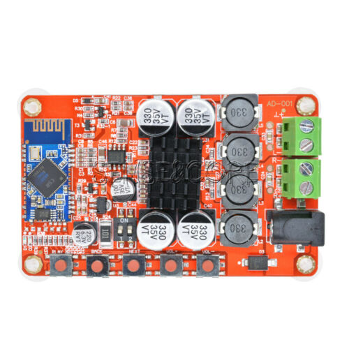 TDA7492P Aideepen 2x50W Dua Channel Bluetooth 4.0 Audio Amplifier Receiver Board