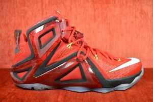info for d1b78 1388a Image is loading CLEAN-Nike-Lebron-XII-12-Elite-Team-University-