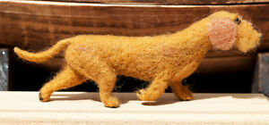 Dachshund-Needle-Felted-One-Of-A-Kind-Hand-Made