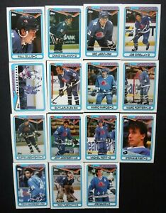 1990-91-Topps-Quebec-Nordiques-Team-Set-of-15-Hockey-Cards
