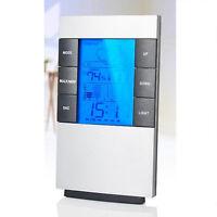 Indoor LCD Digital Hygrometer + Thermometer + Alarm clock