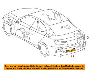 Details about TOYOTA OEM Keyless Entry-Antenna 8999741010