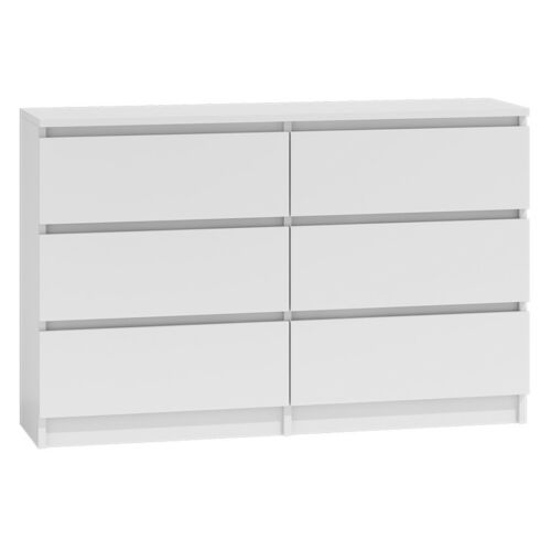 Shoptagr | Chest Of Drawers White Bedroom Furniture Hallway Tall ...