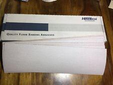 Hiretech HTF 10 floor sander self  abrasive sheets 180 grit Free P&P