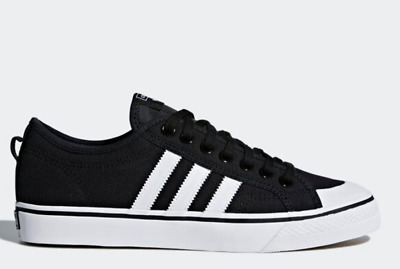 adidas originals nizza  black / cq2332 / casual shoes
