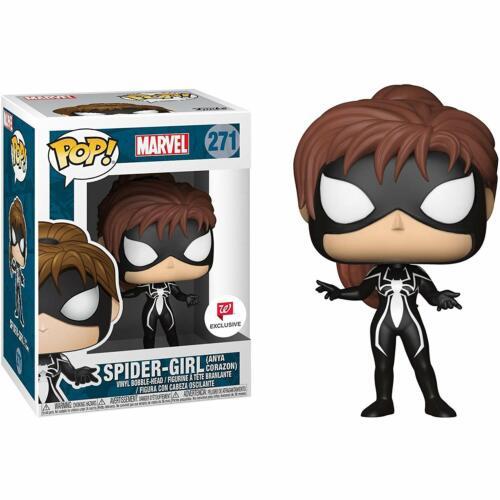 EXCLUSIVE Funko POP Marvel Spider-Girl BLACK Anya Corazon Man #271 Spider-Verse