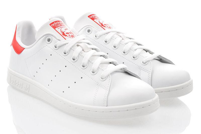 ADIDAS STAN SMITH Herrenschuhe Sneaker Original Weiss Expressversand Top M20326