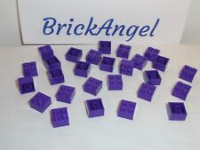 LEGO NEW BULK LOT OF 50 2X3 MEDIUM DARK PURPLE LAVENDAR FLAT PLATE PLATES