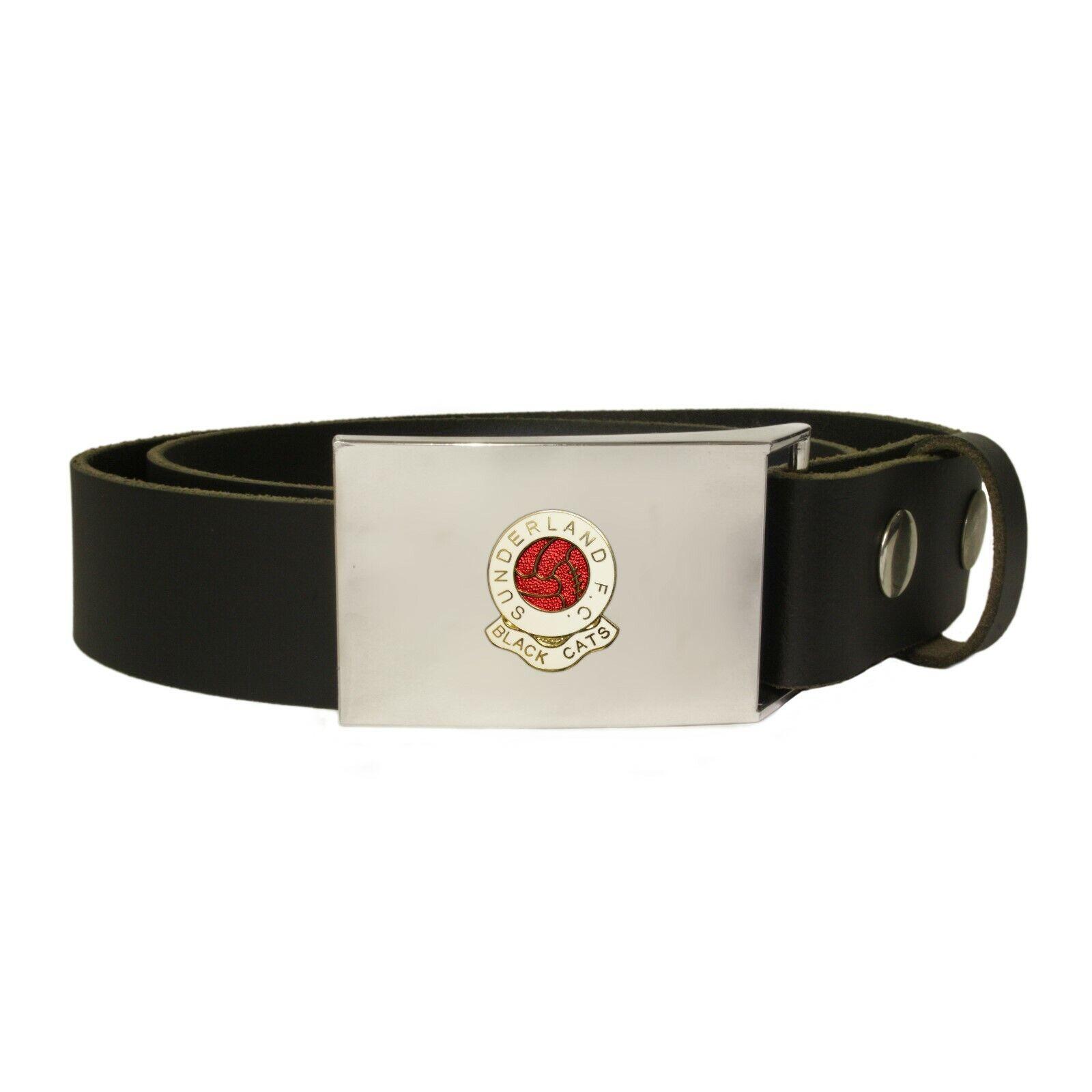 Sunderland football club leather snap fit belt