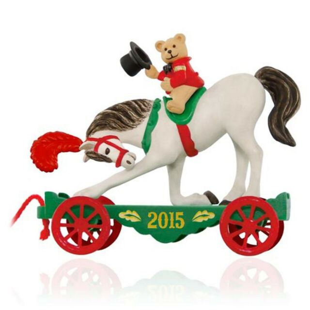 Hallmark 2015 A Pony For Christmas Series Ornament 7 DAY SALE