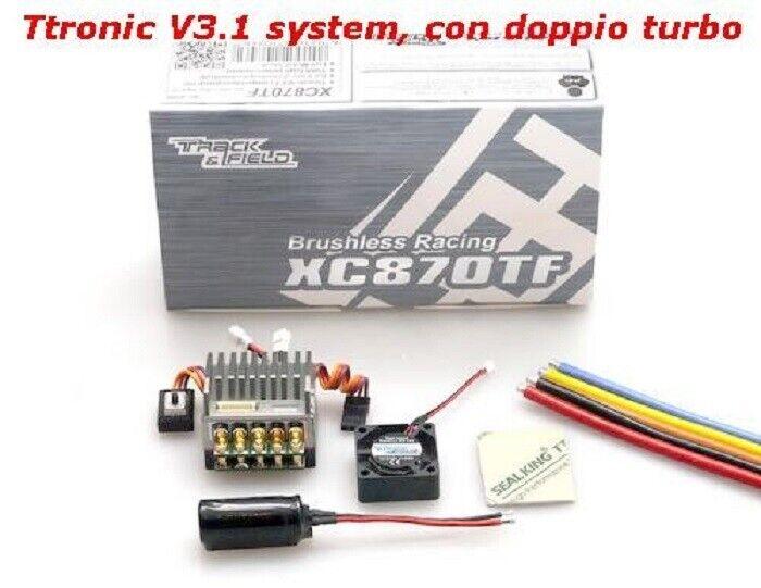 Regolatore brushless XC870TF Ttronic V3.1 - XC870TF