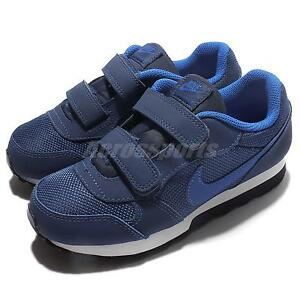 Nike MD Runner 2 PSV Blue White Preschool Boy Running Shoes Sneakers 807317-405