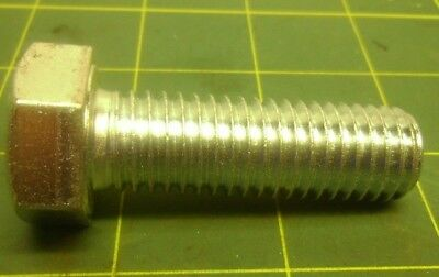 HEX CAP SCREW M5-.8X45mm PARTIAL THREAD ZINC 8.8 QTY 25 #58653