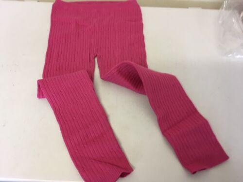 BNWOT Girls Leggings  Thin Knit  Pink 4-5yrs Matalan