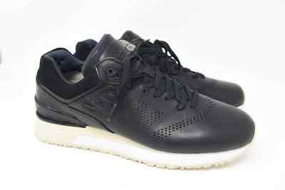 New Balance 2017 Deconstructed Sneakers Black Leather Beige Soles (ML2017MK) NEW   eBay
