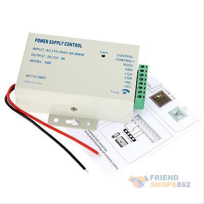 Power Supply Door Access Control System RFID/EM Keypad Access 12V Control K80 s#