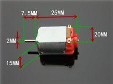 MOTOR CORRIENTE CONTINUA 130DC 1 – 6 v 1000– 10000 RPM ARDUINO RADIOCONTROL
