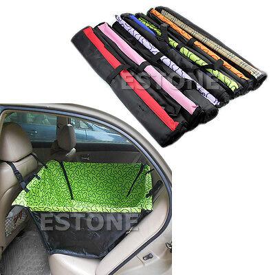 Pet Dog Car Single Seat Cover Safety Waterproof Hammock Mat Carpet New
