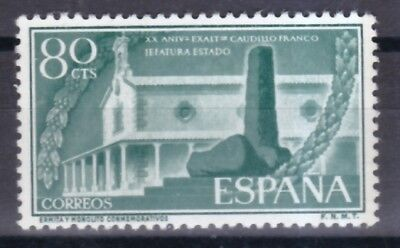 Diskret Spanien 1956 Postfrisch Minr Briefmarken 1096 Monolith Und Kapelle Von Santiago Apóstol