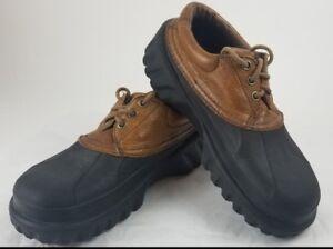7202aab5f7f337 Crocs Islander Lace Up All Terrain Boat Shoes Mens 8 Womens 10 Brown ...