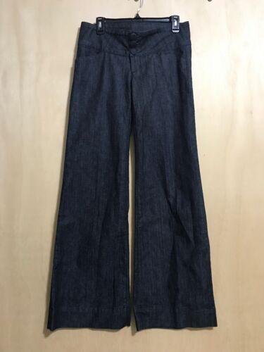 donna con anteriore seta 34 risciacquo Nwt Pantaloni con da Fidelity in bottone jeans Pantaloni 28 q81EwE
