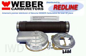 WEBER-Carb-Remote-Air-Cleaner-Adapter-Snorkel-Kit-32-36-DGV-DGEV-DGAV-38-38-DGAS