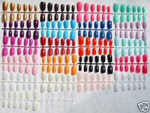 Coloured-Short-Medium-Full-Cover-Flexi-False-Nails-Free-Glue-UK
