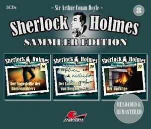 SHERLOCK-HOLMES-SAMMLER-EDITION-FOLGE-8-3-CD-NEW