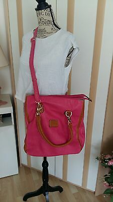 Damenhandtasche, Shopper, pink, neu, Schultertasche, Beiyani