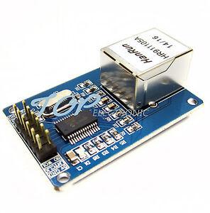 10PCS-ENC28J60-Ethernet-LAN-Network-Module-Pour-Arduino-Serial-PERIPHERAL-INTERFACE-AVR-PIC-LPC