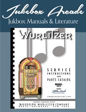NEW!  Wurlitzer 1015 Service Manual & Parts Catalog with full Color Brochure