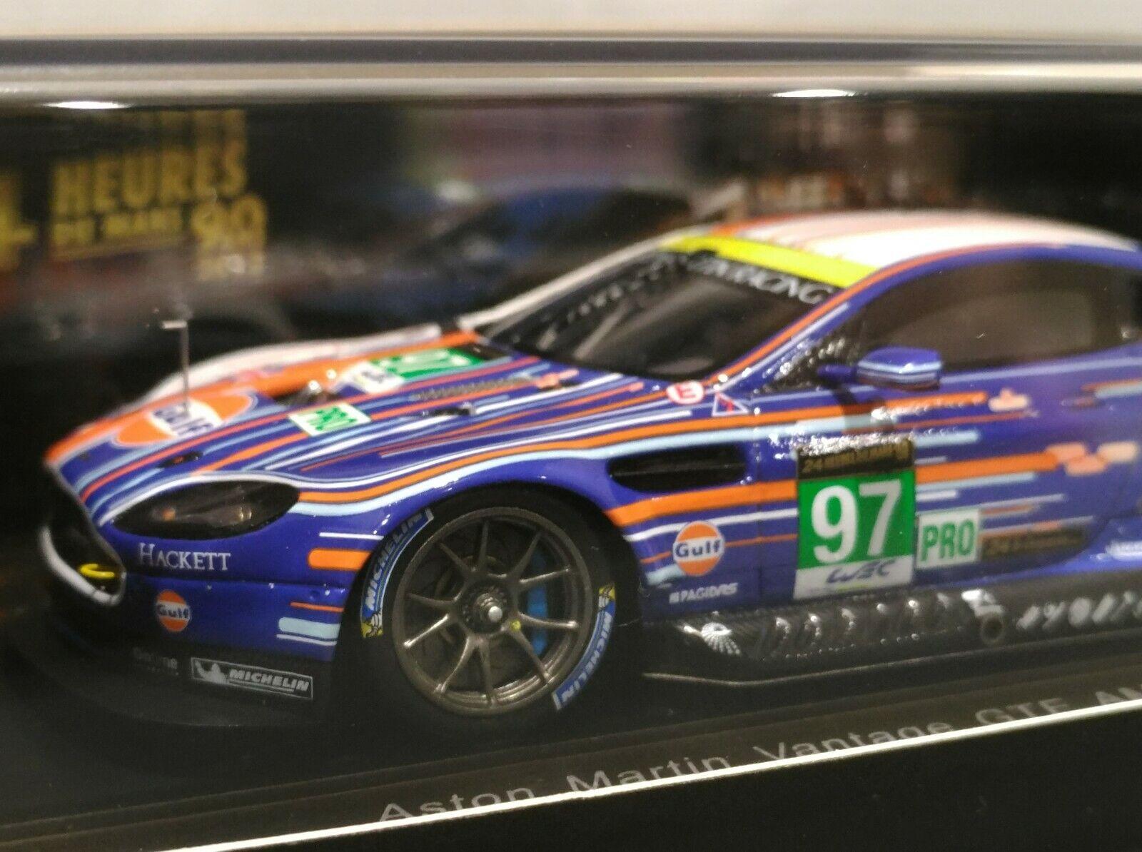 venta de ofertas Spark 1 43 Aston Martin Racing Vantage V8    97 GTE Lemans 2013 WEC Arte coche S3772  mejor precio