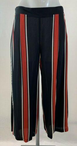 Ladies New Ex George Stripe Culottes size 10 20 24