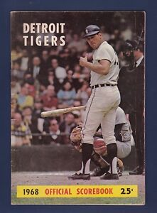 Image Is Loading Detroit Tigers Vs Chicago White Sox 1968 Baseball