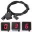 Indicateur-Vitesse-Rapport-Engage-Capteur-Levier-LED-Rouge-Numerique-Affichage miniature 1