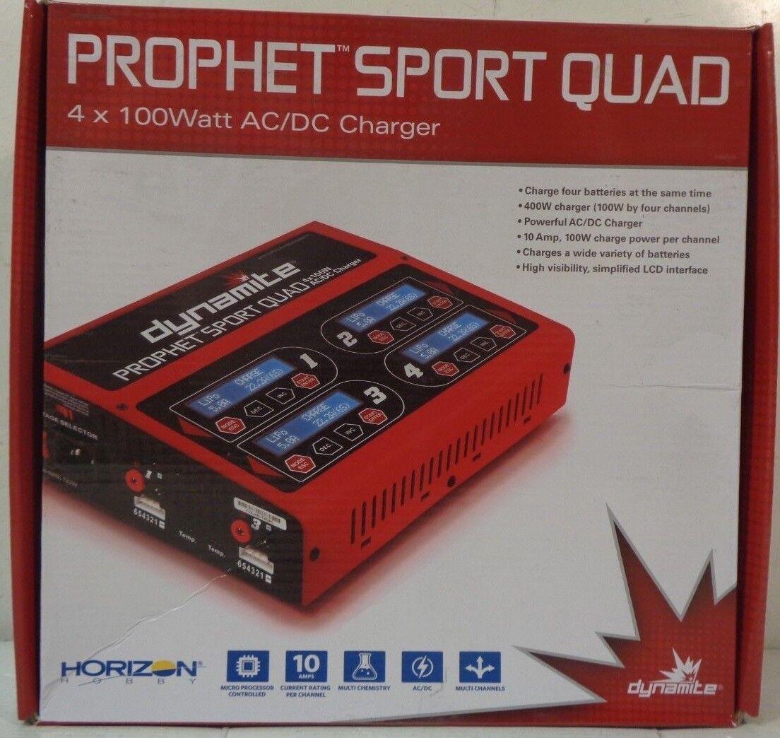 Dynamite Prophet Sport Quad 4 X 100W AC/DC Charger DYNC2050