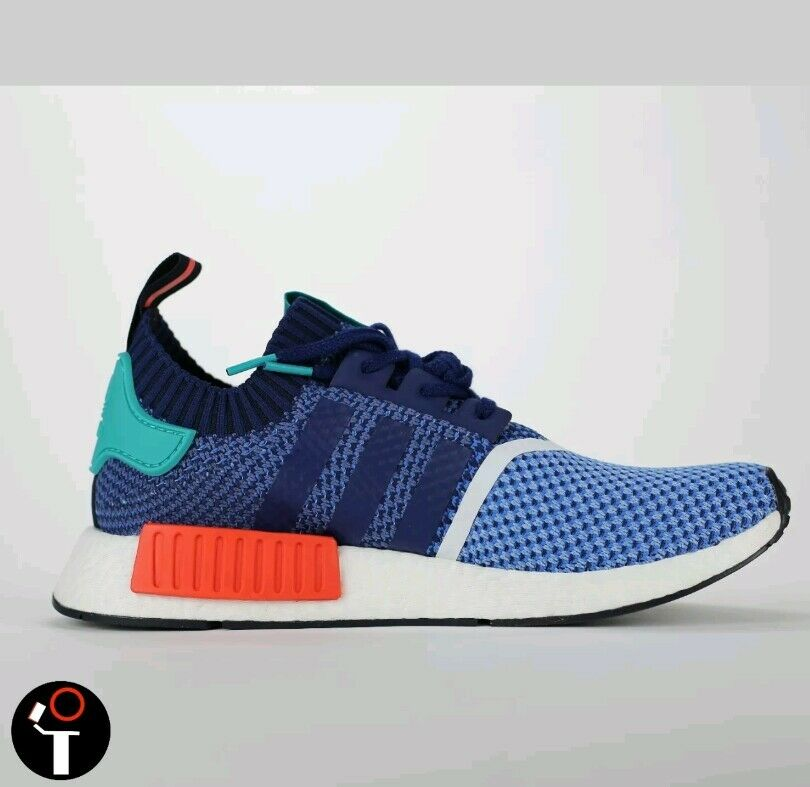 IN HAND! ADIDAS CONSORTIUM X PACKER SHOES NMD R1 PK 10 BLUE RED GREEN BB5051