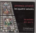 ANTONIO VIVALDI - les quatre saisons CD