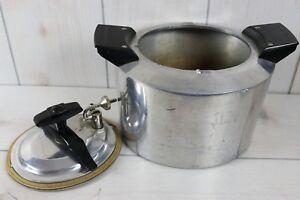 Vintage-Minitmaid-Pressure-Cooker-Deep-Fryer-Chicken-Heavy-Cast-Aluminum