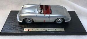 Maisto-1948-Porsche-N-1-tipo-356-Roadster-1-24-Escala-Edicion-Especial