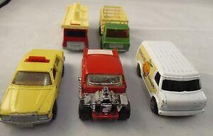 Vintage-Retro-Matchbox-Superfast-amp-Corgi-Bundle-1970-039-s-amp-80-039-s