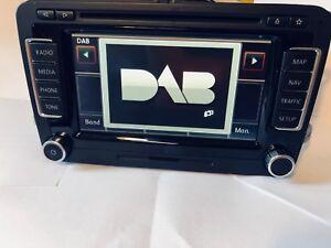 DAB + UMRÜSTUNG RNS510 Skoda Columbus Umbau auf DAB+ Empfang und SSD + Antenne
