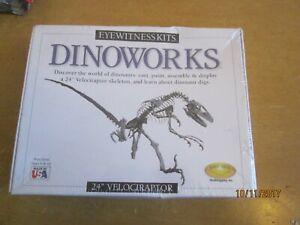 Skullduggery Eyewitness Kits Dinoworks Stegosaurus New Factory Sealed Educational Science & Nature