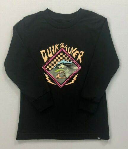 Boy/'s Youth Quicksilver Long Sleeve Cotton Shirt
