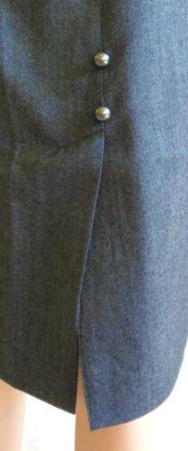 Haut Salzbourg trachtenrock Crayon Anthracite Taille 36 38 40 42 44 46 48