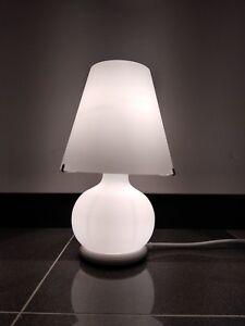 Dettagli su Lampada da tavolo PARALUME MINI LEUCOS 040702636309, in VETRO E14 60W