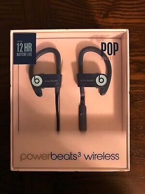 Apple Mret2ll A Powerbeats3 Wireless Earphones Pop Blue For Sale Online Ebay