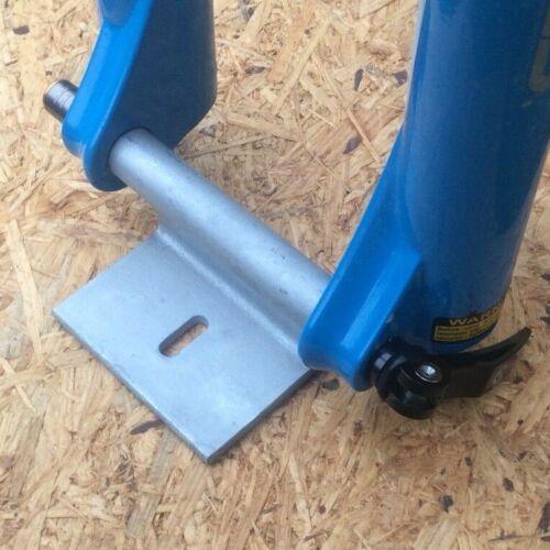 Fahrradträger Gabelhalterung für MTB Steckachse 15mm Nabenbreite 110mm Innenraum