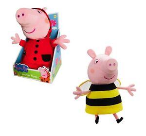 Peppa-Pig-Grande-Peluche-Juguete-Muneca-29cm-Alto-Bee-Ladybird